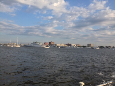 Charleston, from Charleston Harbor.