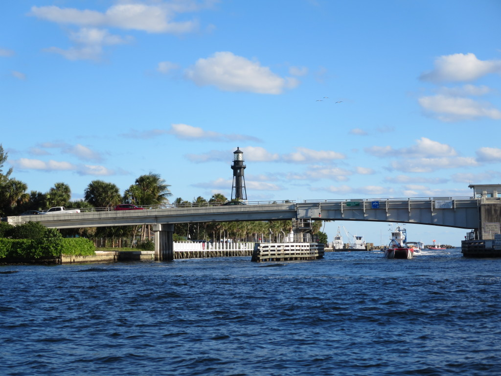 Hillsboro Inlet lighthouse. We've climbed this one.